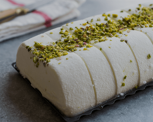 recipes of frozen desserts and ice cream with ricotta