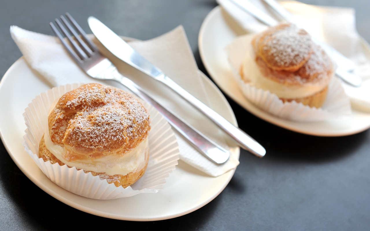cream puffs with ricotta cream recipe