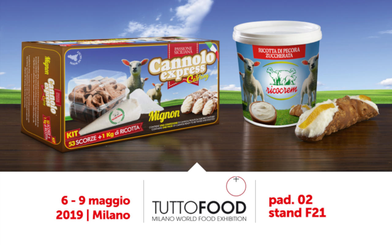 tuttofood 2019 milano ricocrem