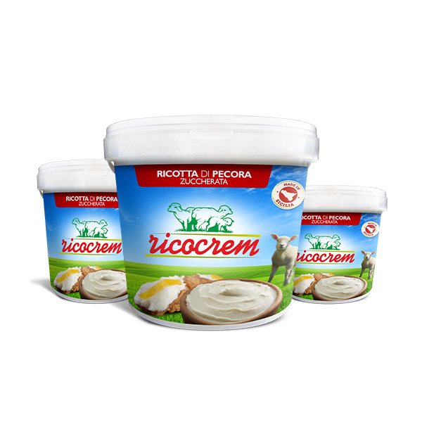 ricocrem company made ricotta cream for pastry