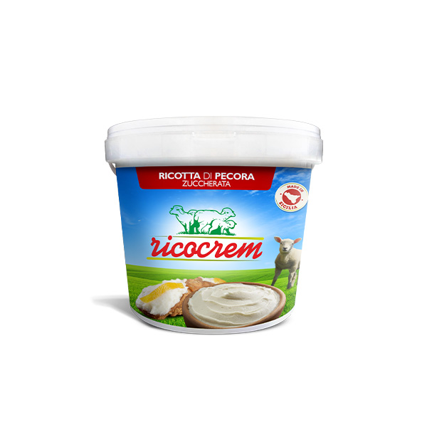 ricotta cream for pastry chef big bucket