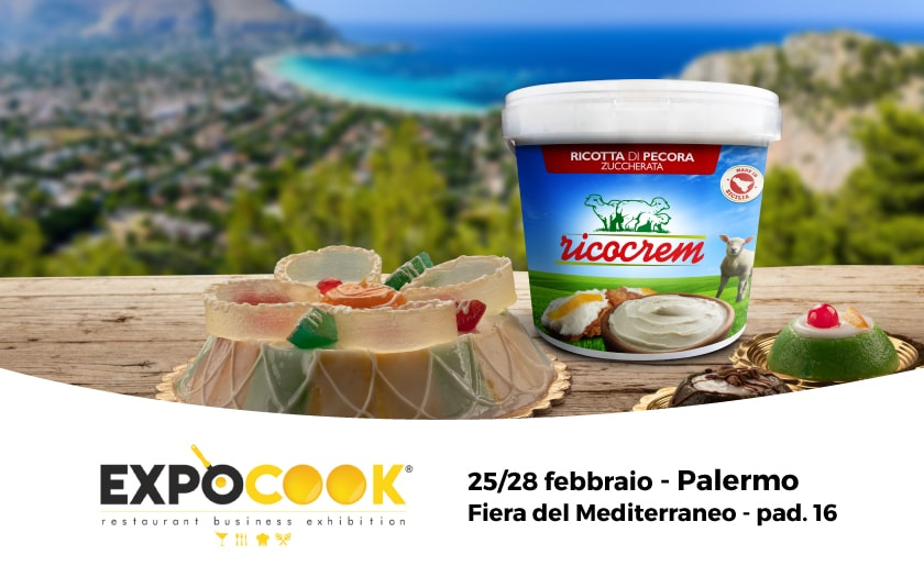 Expocook 2020 Palermo, 25-28 febbraio – Ricocrem